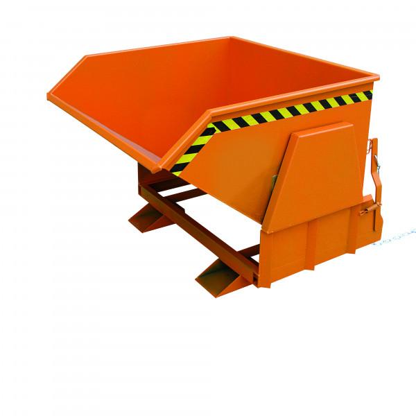 Schwerlast-Kippbehälter 2011 in orange lackiert