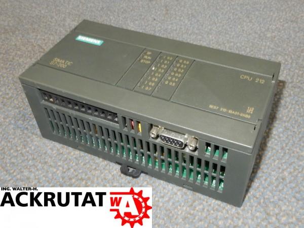 Siemens 6ES7 212-1BA01-0XB0 CPU-Modul CPU212 S7 Simatic E3 6ES7212 Steuerung
