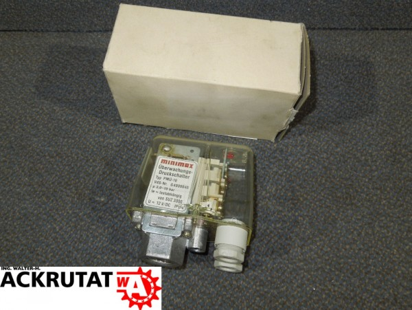 Minimax PMÜ-10 Überwachungs-Druckschalter 810564 Sprinkleranlage SUZ 3000