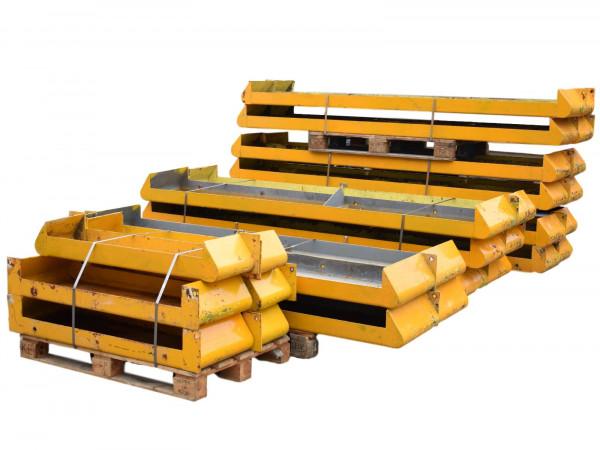 Anfahrschutz-Set Rammschutzelemente Einzel/Doppelzeile Regalschutz Leitplanke
