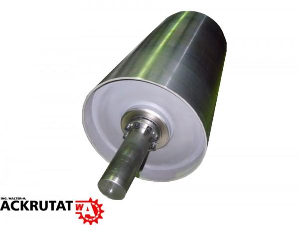 Umlenktrommel Stahltrommel Förderband Trommel Walze RL=750 mm Ø 220 mm