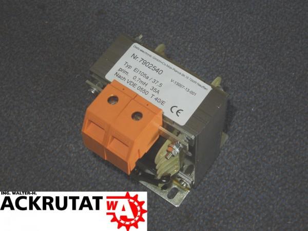 Dietz Netzdrossel EI105a 37,5 7902540 Trafo Netztransformator Transformator