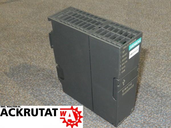 Siemens 6ES7972-0CB35-0XA0 Adapter 6ES7972 TSA-II Modem Simatic S7