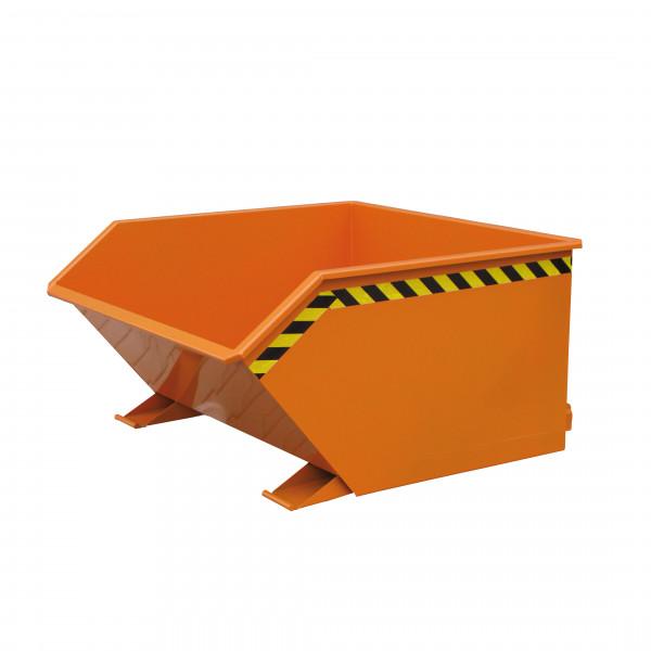 Beistell-Kippbehälter 2012 in orange lackiert