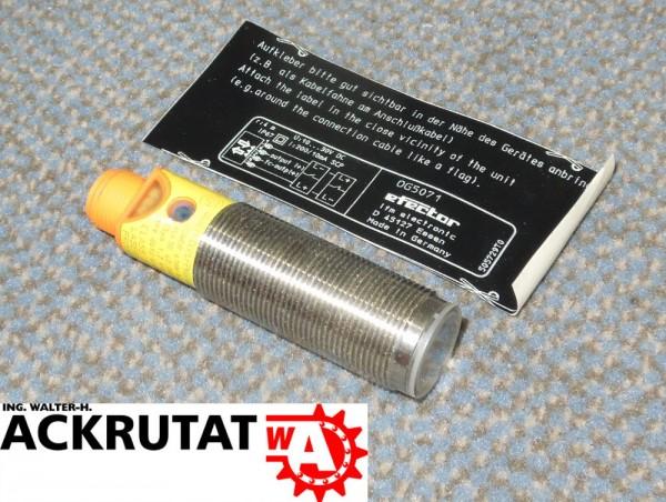 Ifm OG5071 Reflexlichtschranke OGPLFPKG/B4/V4A/US-100 Sensor Lichtschranke