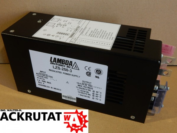Lambda Schaltnetzteil LZS-250-3 Switched Mode Power Supply Netzteil