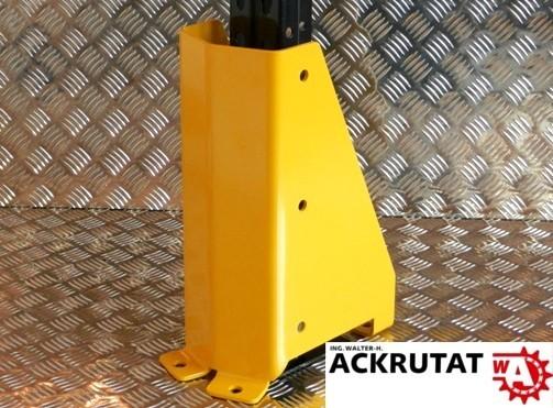 6x Prallschutz U-Form Eckschutz Palettenregal Stützenschutz Säulenschutz Poller