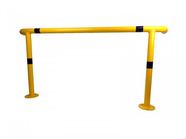 Rammschutzbügel für Palettenregale gelb schwarz