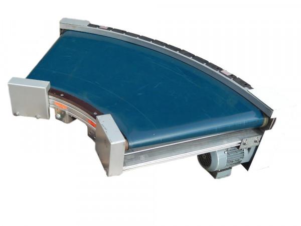 Kurvengurtförderer Transnorm 60° TS 1500-080 Gurtförderer Förderkurve Gurtkurve