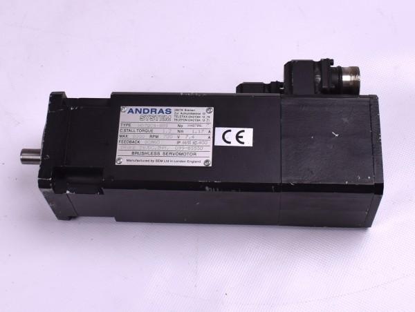 Servomotor Andras System HD70C4-88S Bürstenlos Motor Brushless