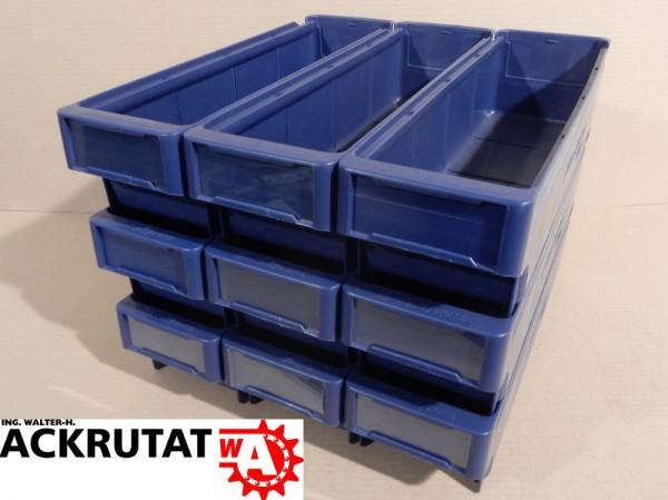 9 x Arca Systems 9111 Sichtlagerbox Kasten Kiste Behälter Lagerbox Box Kisten