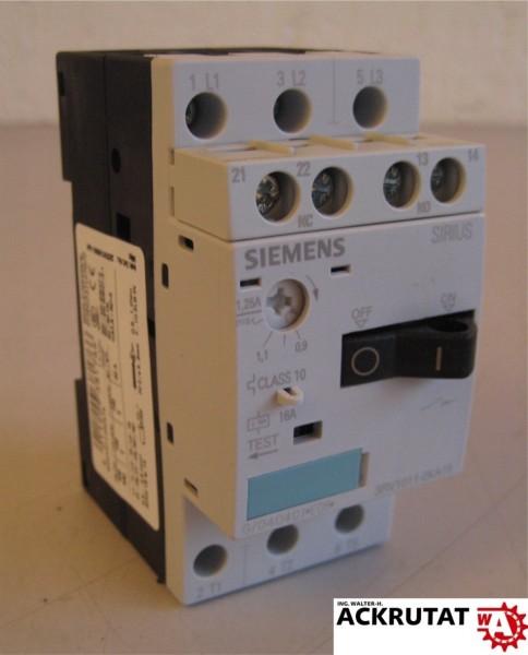 Siemens 3RV1011-0KA15 E05 Leistungsschalter Cirkuit Breaker