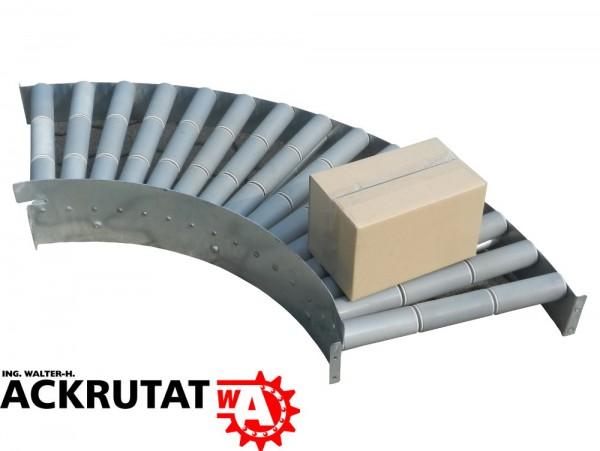 Rollenbahnkurve Schwerkraftrollenbahn 90° Rollenkurven Rollenbahn