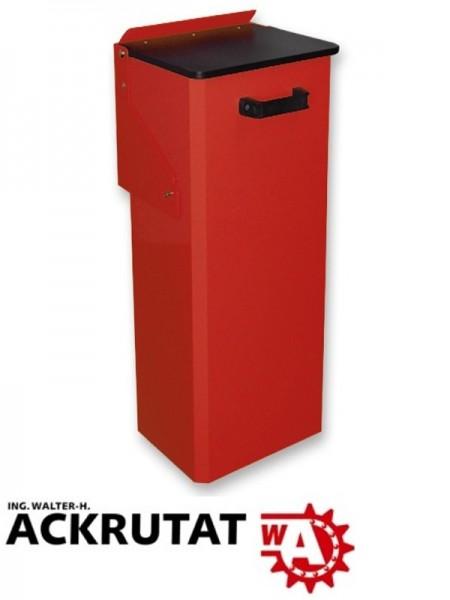 Hailo Wertstoffbehälter Mülleimer Abfalleimer 80 l rot NEU