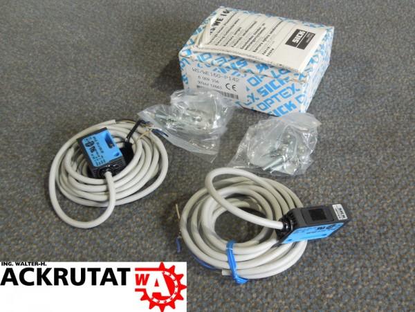 Sick Einweg Lichtschranke WS/WE160-P142 Sensor 7 m 6009556 Set