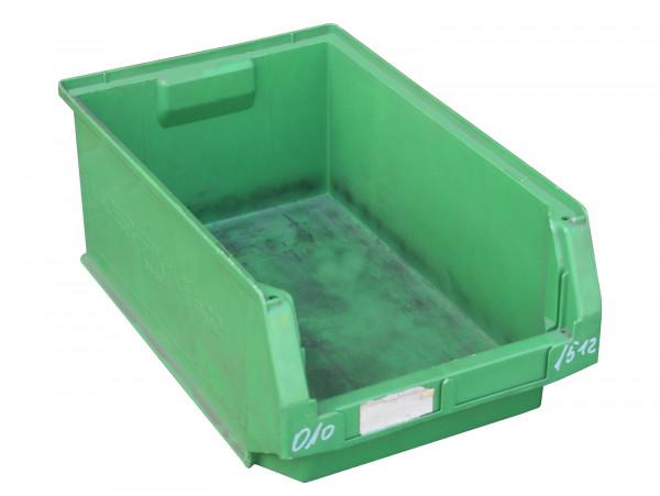 SSI Schäfer Sichtlagerkisten grün Regalbehälter
