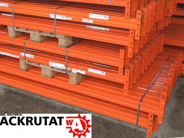 20x Meta Multipal Traversen LW 3600 mm orange Palettenregalholm Regalauflage