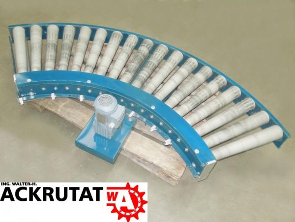 Rollenbahnkurve Rollenkurvenförderer SEW Motor Kurve Rollenbahn Förderbahn