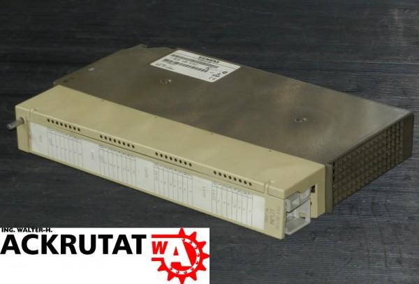 4 Siemens Simatic S5 6ES5 430-7LA12 E3 E4 E11 Digital Input Modul DI 6ES5430