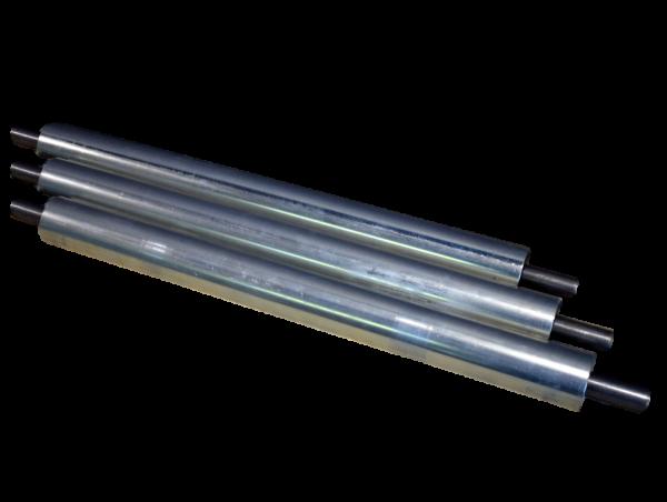 2 x Stahlrolle RL 540 mm Umlenkrolle für Gurtförderer Untergurtrolle Ø 60 mm