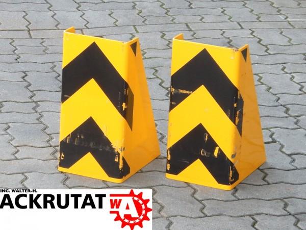 2x Anfahrschutz XL Maschinenschutz U-Form Regalschutz Rammschutz Regal