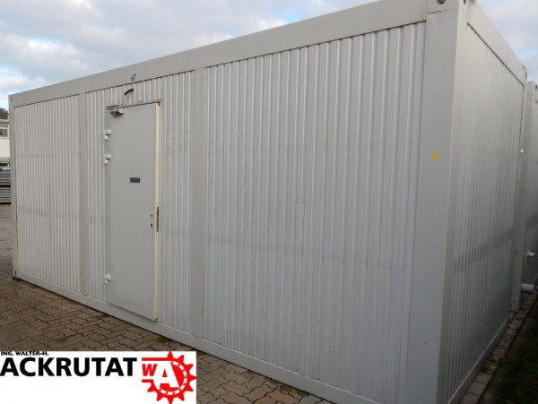 "20 Fuß Toilettencontainer WC Container 20"" Sanitärcontainer 6 Toiletten Kabinen"