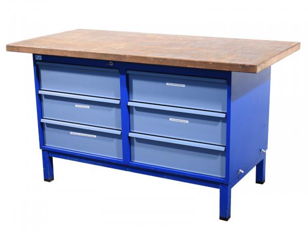 Werkbank Stahl Schubladenschrank Werktisch