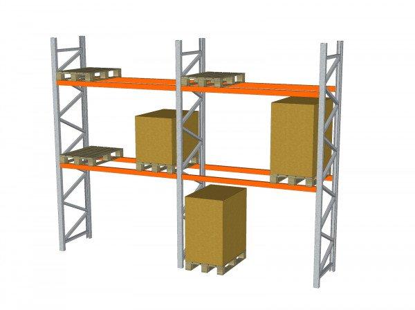 H3990 Arestant Schwerlastregal Palettenregal 3000 kg Industrieregal