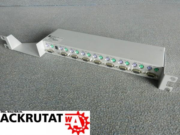 Rittal DK 7552.000 SSC view 8 KVM-Switch 19'' Switch 8 Ports Serverschrank