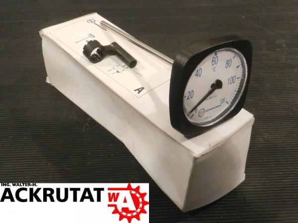 Ebro Bimetall Thermometer Armaturen Temperaturmessung Temperatur DN-80/125