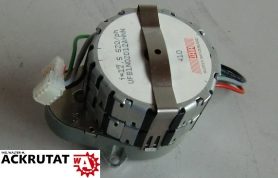 Saia Murten stepper-motor UFB1N02D12AHNN 410 UFB1N02 i 12,5 Schrittmotor