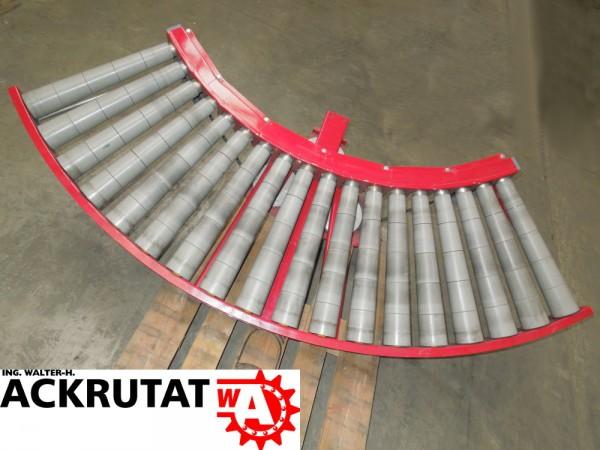 Klinkhammer Rollenbahnkurve Förderbandkurve 90° Rollenkurvenförderer Rollenbahn