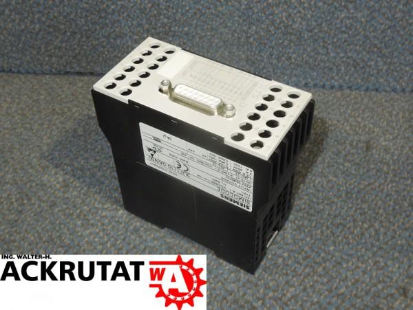Siemens Erweiterungsbaustein 3UF1110-0AN00 Simocode Modul SINEC SPS