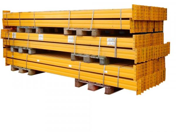 10 x Palettenregalauflagen Jungheinrich Typ B 3700x145x50 mm gelb Lagerregal