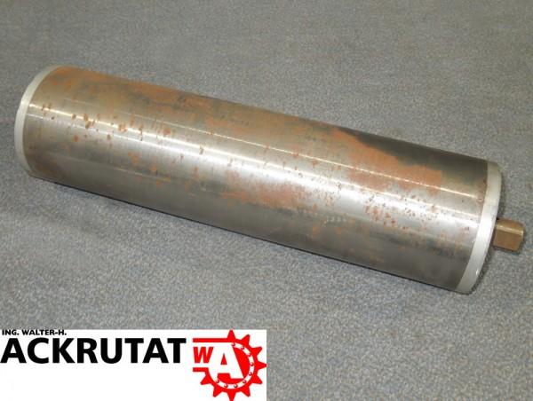 Umlenktrommel Stahltrommel Förderband RL=410 mm Ø 113 mm Trommel Rolle