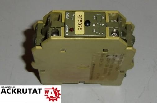 Pilz Z1MN Relais Sicherheitsrelais Stillstandsüberwachung 220 V 1a1r 2k4-3k6
