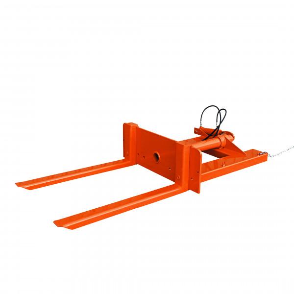 Eichinger Hydraulischer Behälterkipper für Stapler 2091 in orange lackiert