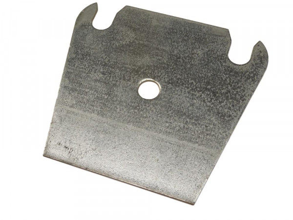 10 Unterlegplatten Meta PN15 PS23 Palettenregal Ausgleichsplatten 2 mm Platten