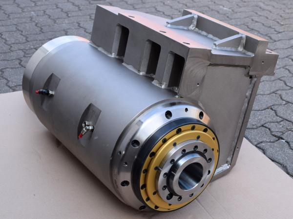 Motorspindel Siemens 3-Phasen Synchroneinbaumotor Werkzeugspindel
