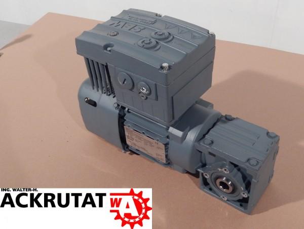 SEW Eurodrive 0,55 kW Getriebemotor WA20DKS7154BE05/MM05/M0/AZZK/LN Motor WA20