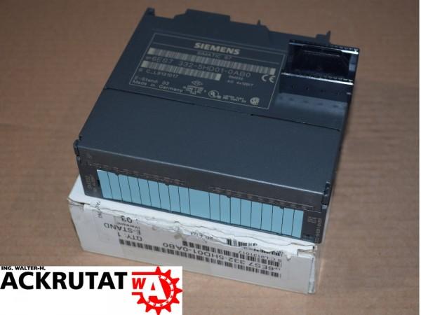 Siemens Simatic S7 6ES7 332-5HD01-0AB0 SM 332 SPS Modul Steuerung E3 6ES7322