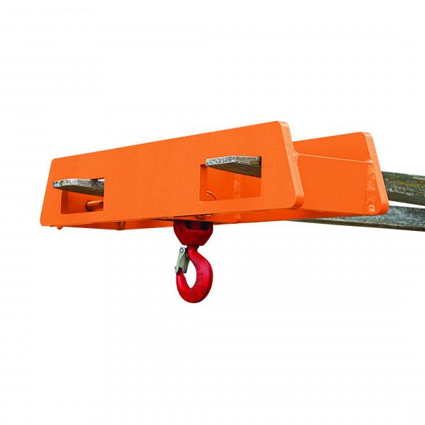 Eichinger Lasthaken für Stapler 2085 in orange lackiert