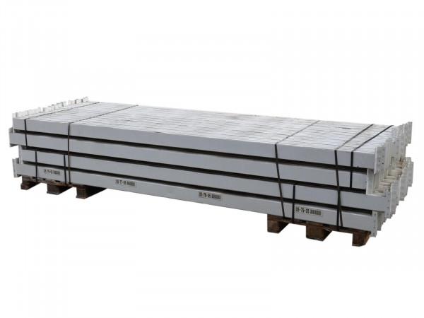 Jungheinrich Palettenregal Traverse LW 3600 Stahl weiß lackiert