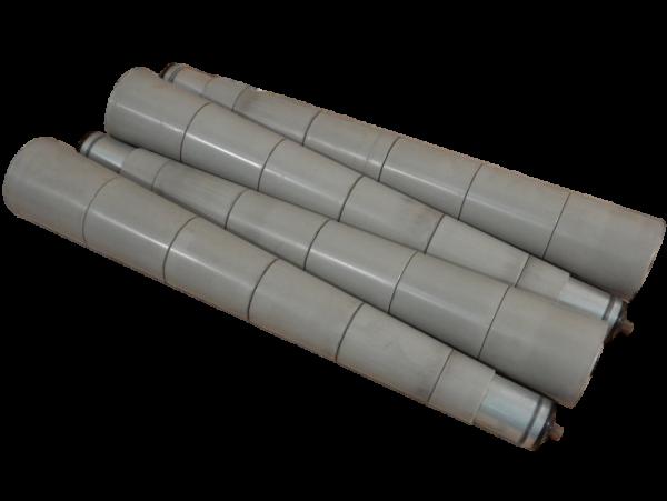 4St Rollenbahn konisch Rolle Ø50-90 Tragrolle Förderrolle RL610mm Förderbahn
