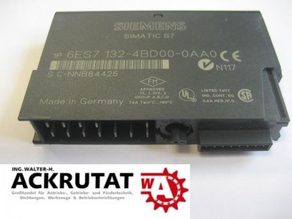 Siemens Simatic S7 Digital Input 6ES7132-4BD00-0AA0 NEU