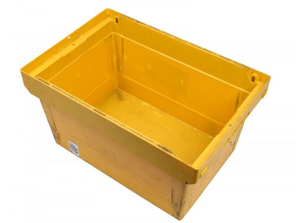 Transportkiste Lagerbehälter Mehrwegbehälter Bito MB gelb