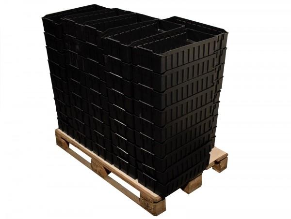 110x SSI Schäfer RK 521 B Regalkasten Lagerkiste Behälter Box stapelbar