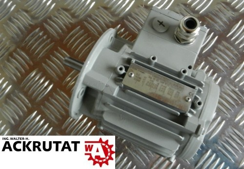 Siemens Drehstrommotor 0,05 kW Niederspannungsmotor 1LA70534AB91-Z Flansch