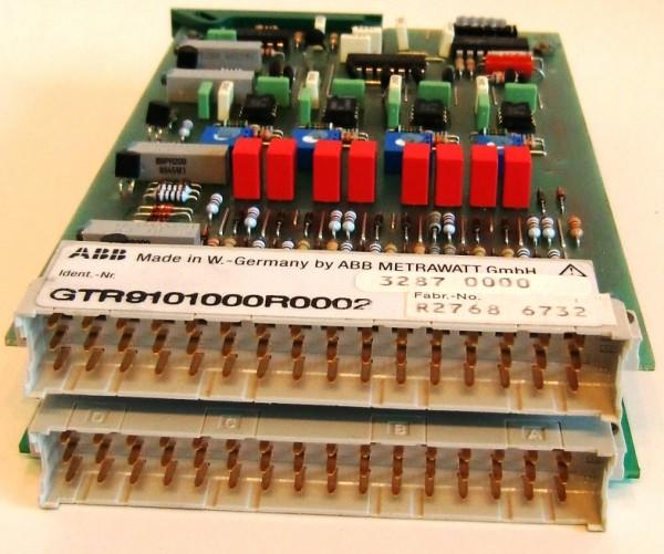 ABB GTR9101000R0002 CONTROL BOARD ASSEMBLY Steuerungseinheit