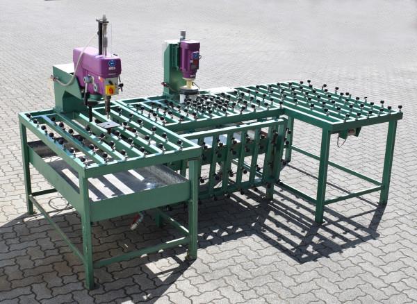 Bodo Gerhard Glas-Bearbeitungsmaschine Bohrmaschine Kantenschleifer